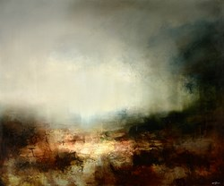 Harvest by Neil Nelson - Original Painting on Box Canvas sized 47x39 inches. Available from Whitewall Galleries